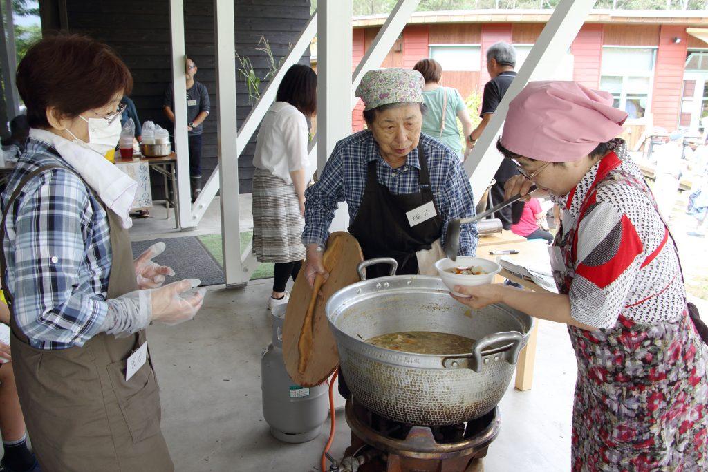 農場特製の豚汁も、とても美味しかったです。