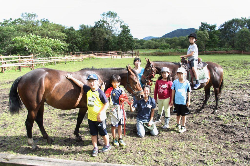 楽しく、そして癒やされるひき馬体験。